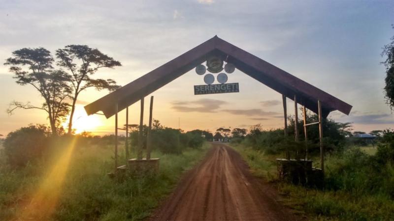 Ingresso del Parco dei Serengeti