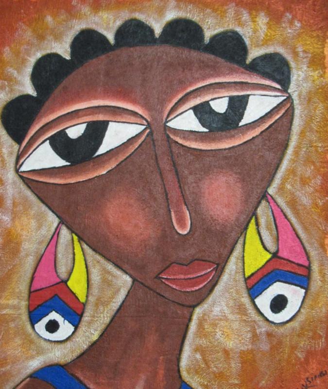 Modigliani in chiave africana del cultural heritage centre di Arusha