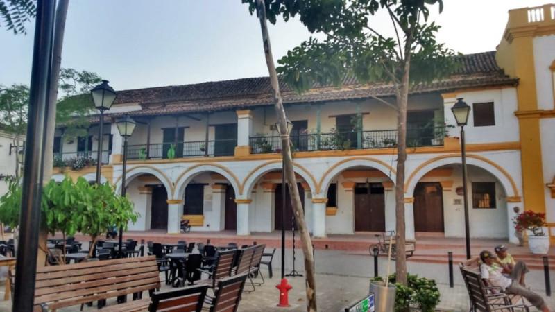 Mompox la piazza principale