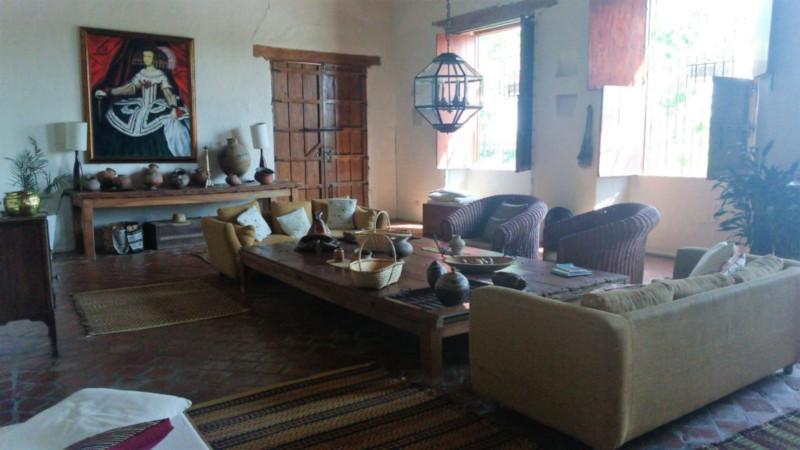 Il salone del Portal de la Marquesa di Mompox