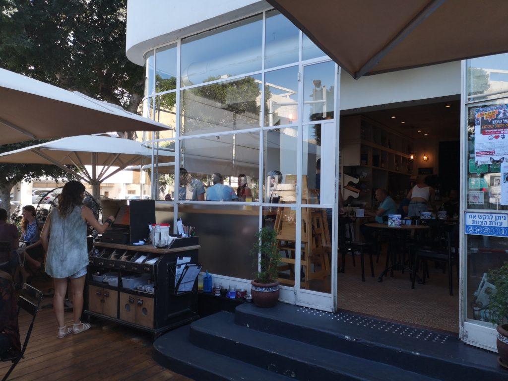 Il bistrot vegan Anastasia di Tel Aviv