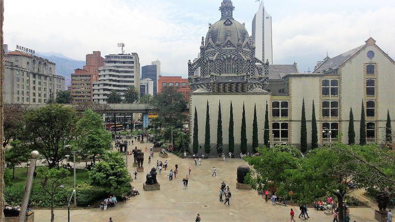 Un assaggio della Colombia:piazza botero di Medellin