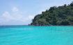 Mare cristallino dell' isola di koh mak