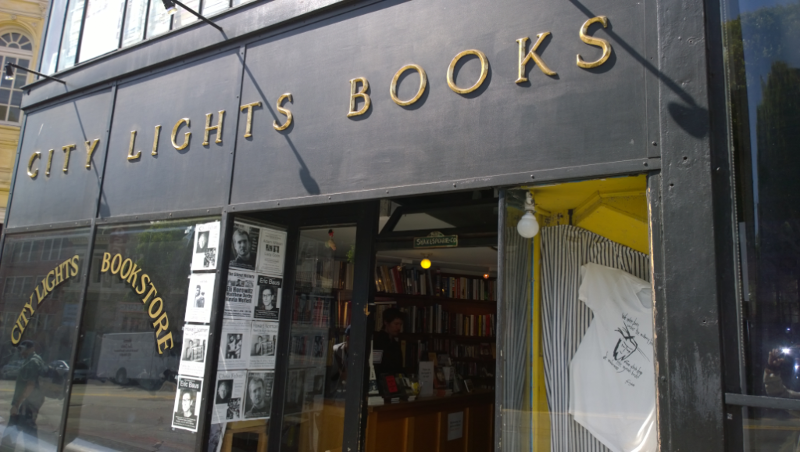 La Libreria city lights bookstore di san-francisco