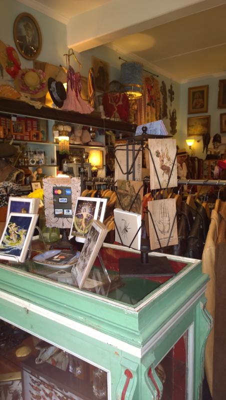 Un negozio originale di mission nel quartiere di san francisco.