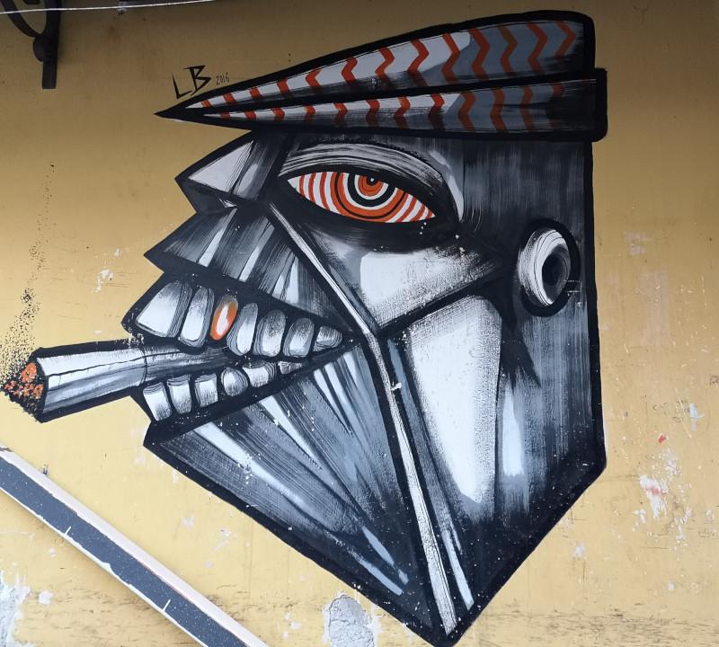 Street-art al Capo