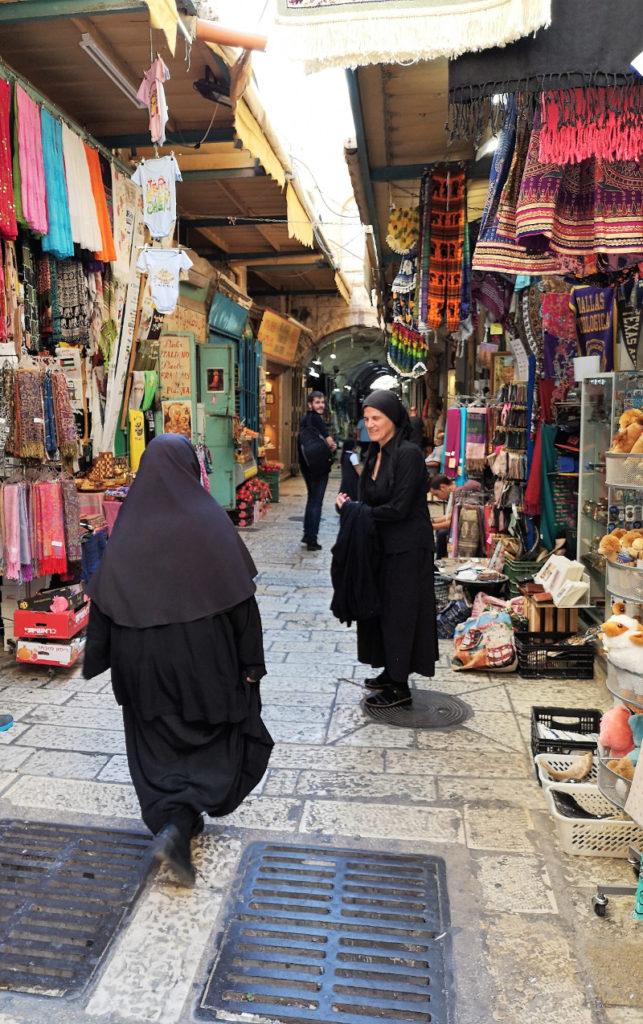 Una stradina della città vecchia di Gerusalemme