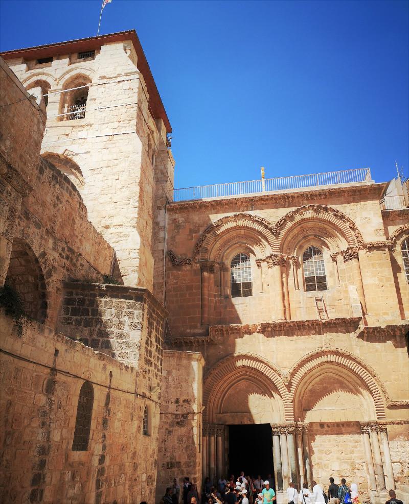 Ingresso della Basilica del santo sepolcro