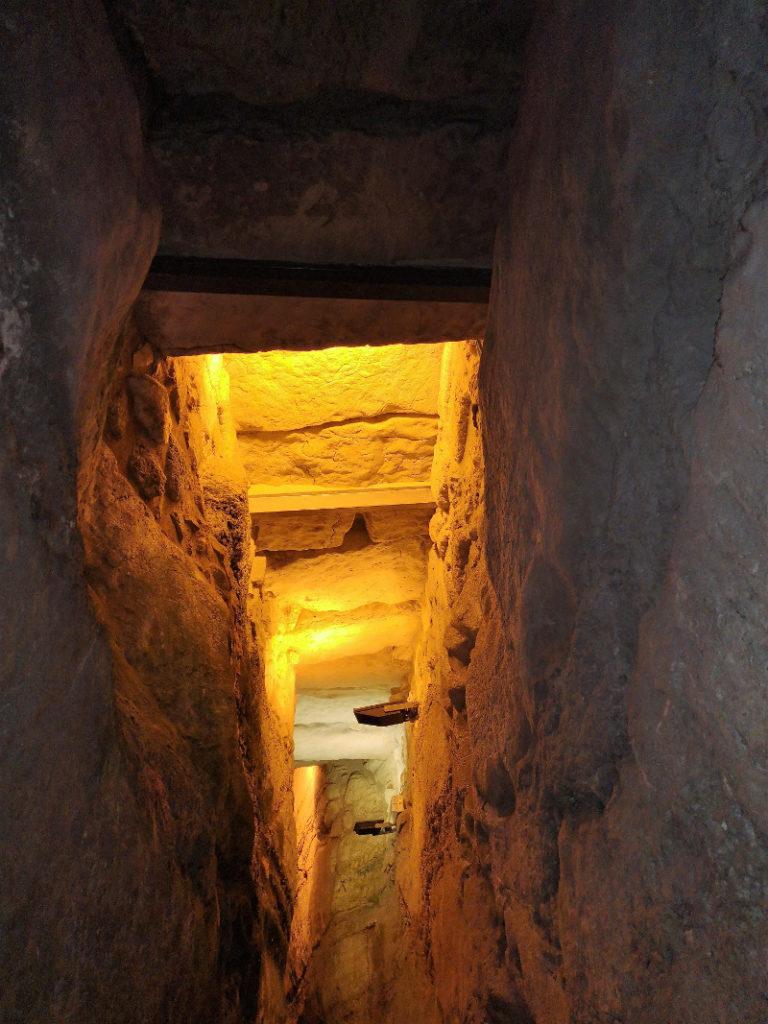 Un tunnel del muro occidentale