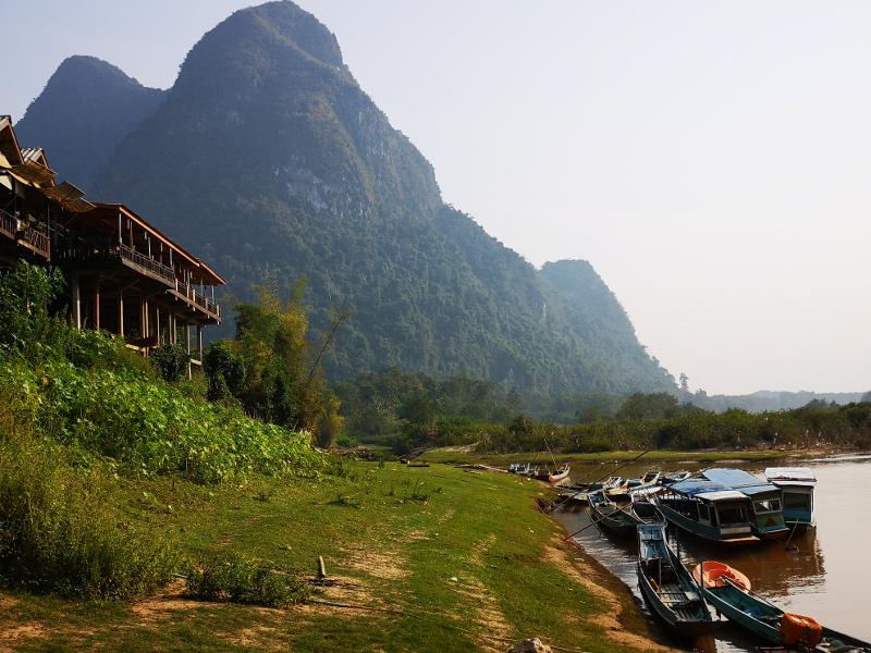 Muang Noi nel nord del Laos