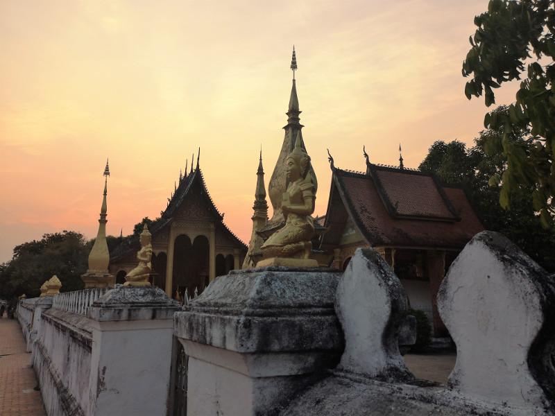 Il Tramonto Wat Xieng Thon ,Luang Prabang