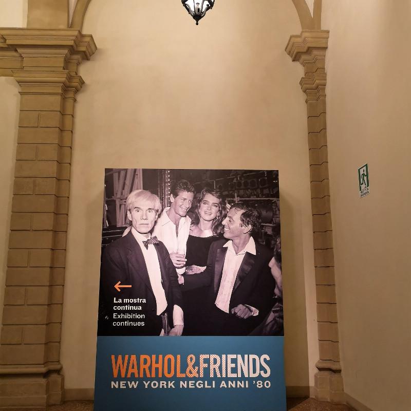 Mostra Wahrol &Friend a Palazzo Albergati di Bologna