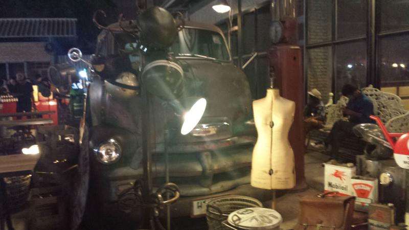 Oggetti vintage al Ratchada
