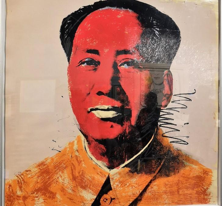 serigrafia di Mao