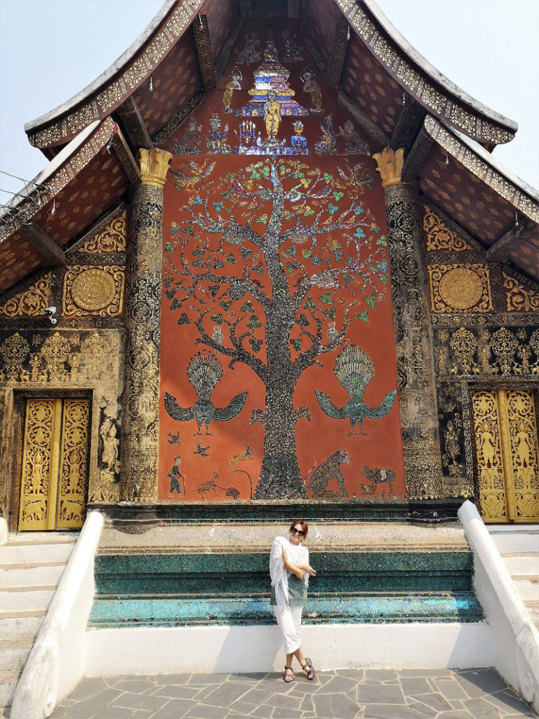 Il Wat Xieng Thong Luang prabang.