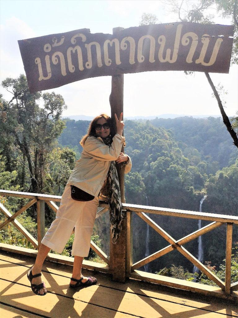 Cascata Tad Fane in Laos