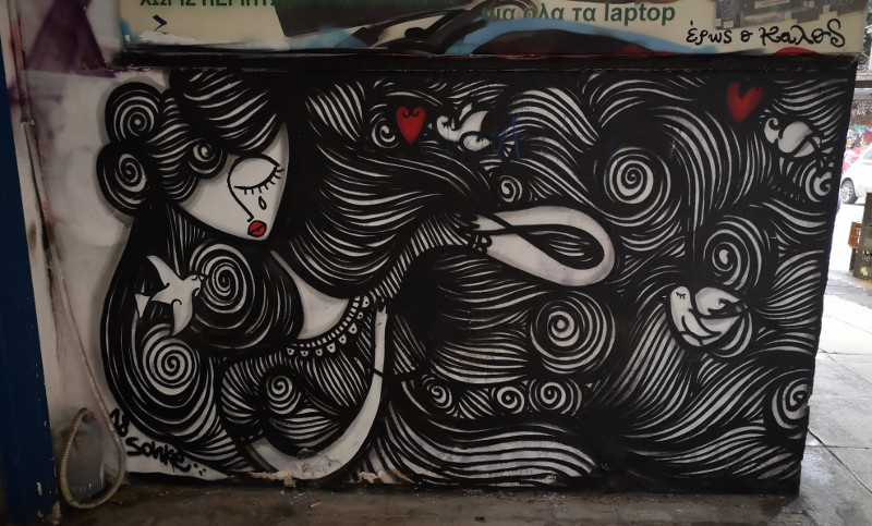 Murales di Exarchia