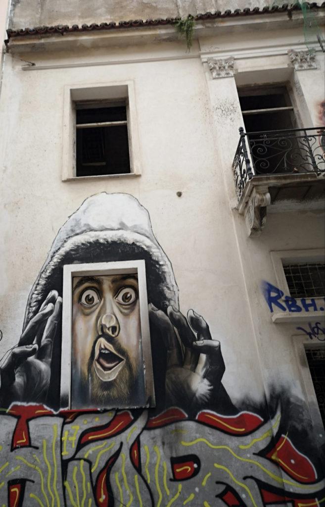 La street art di Exarcha