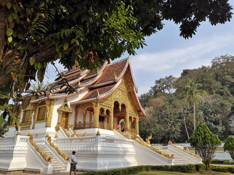 Il palazzo reale di Luang prabang