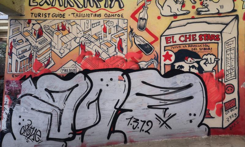 alla scoperta della street-art di Exarchia