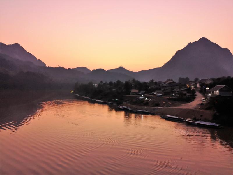 Da vedere il tramonto da Nong Khiaw