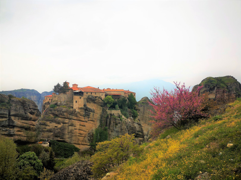 visitare le Meteore:il monastero di Varlaamarr