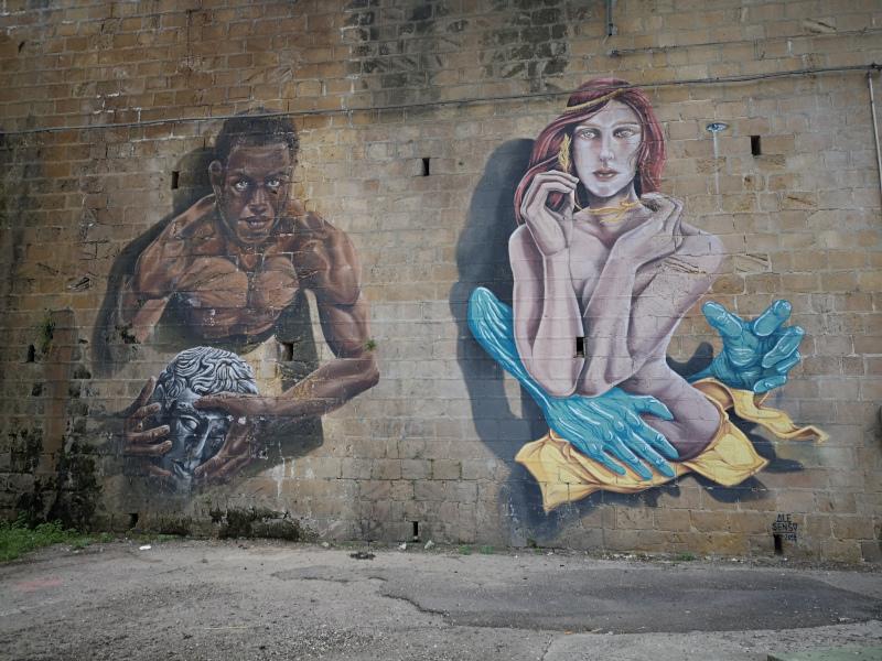 Murales ad Enna