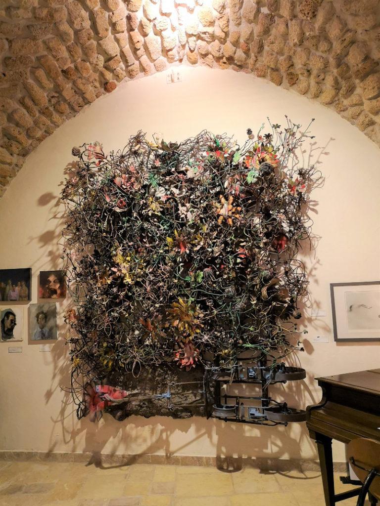 A parete Installazione del museo di Ilana Goor