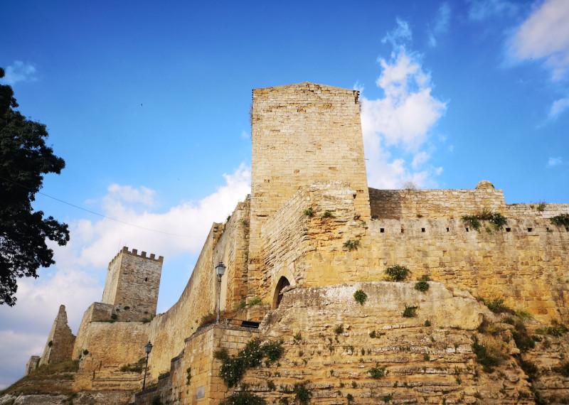 Il castello di Lombardia ad Enna l'ombelico della Sicilia