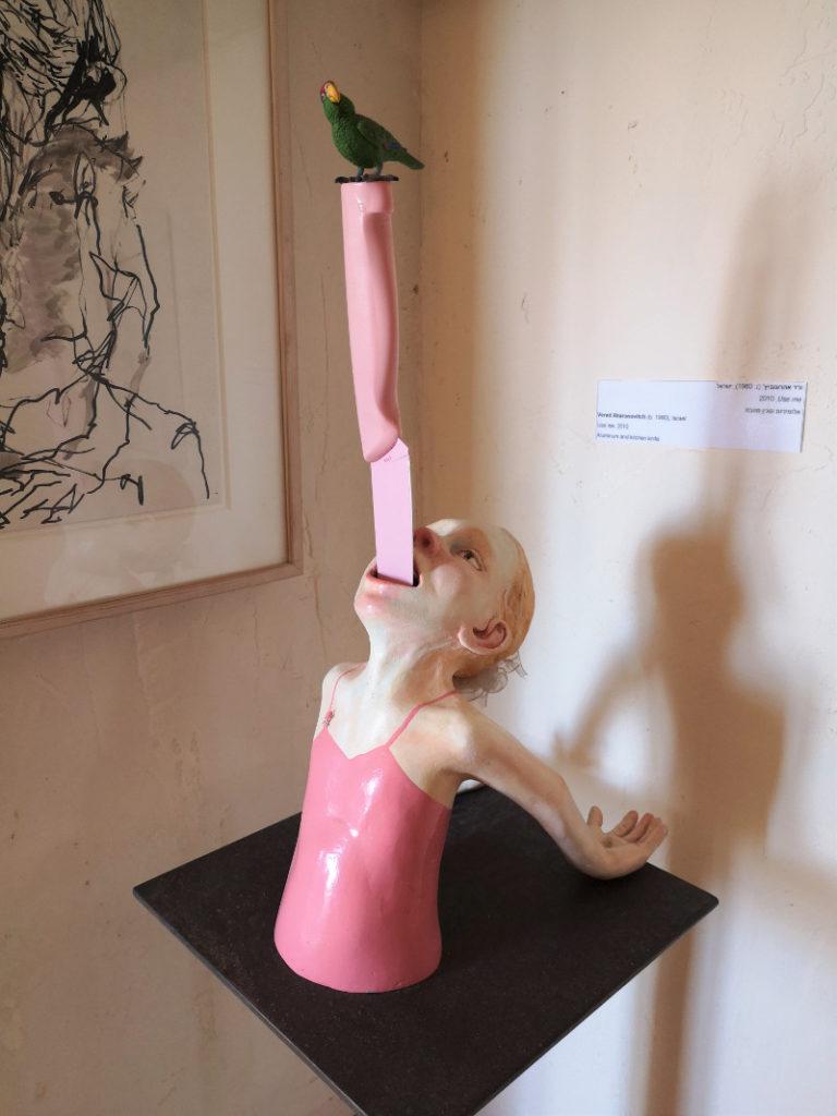 Opera d'arte nel museo di Ilana Goor
