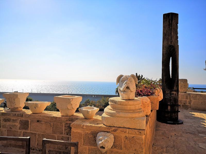 Meravigliosa terrazza del museo di Ilana Goor