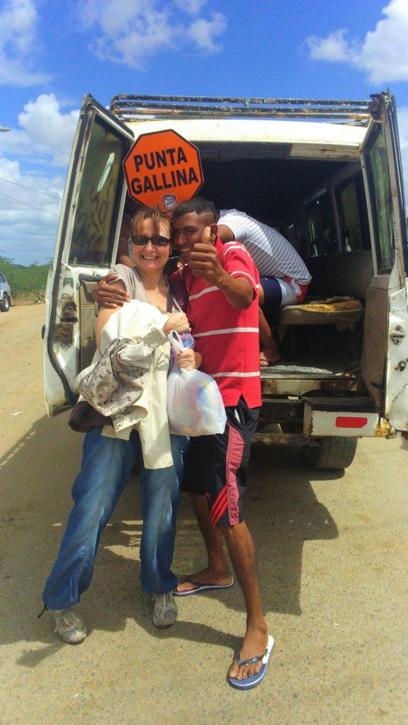 All'incrocio di Uribia per partire per Cabo de la Vela in Guajira