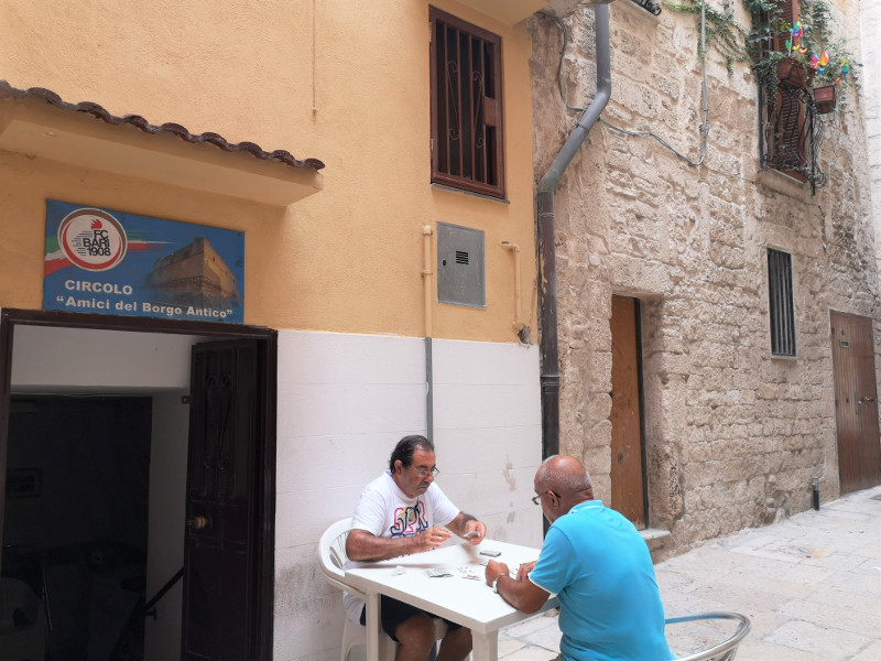 Gente della Bari vecchia