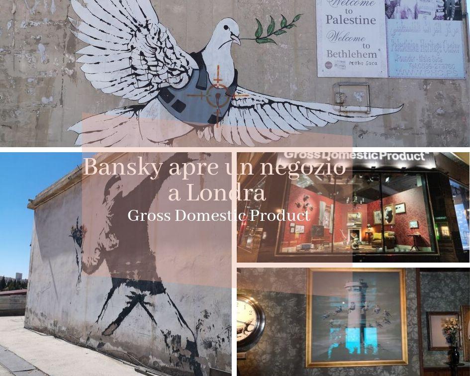 Bansky apre un negozio a Londra
