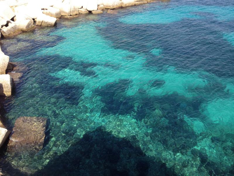 Il mare di cristallino di Levanzo