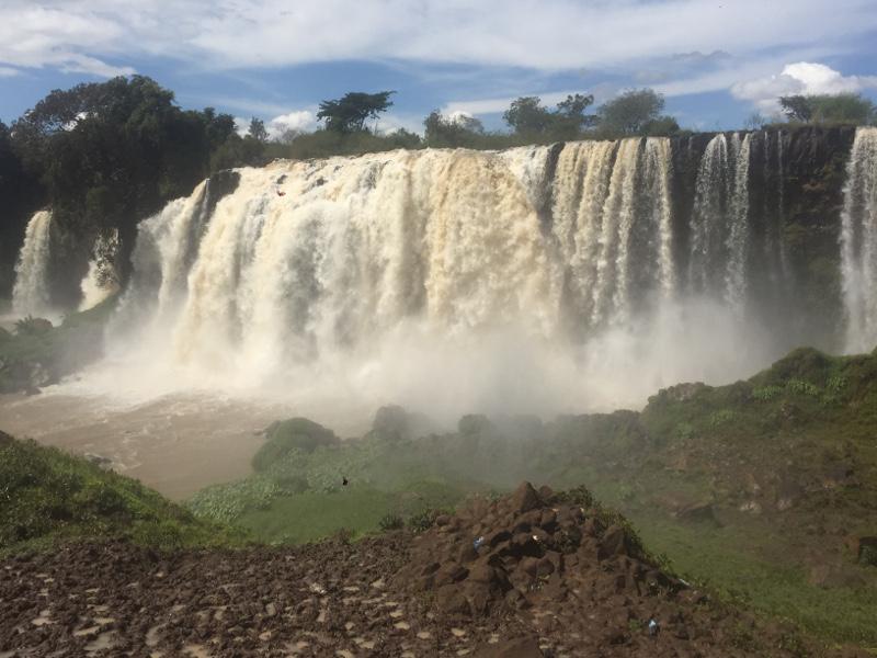 Le cascate del Nilo azzurro in Etiopia