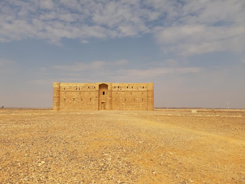 Qasr Kharana uno dei Castelli del deserto della Giordania