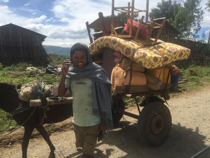 Scene di vita quotidiana in Etiopia