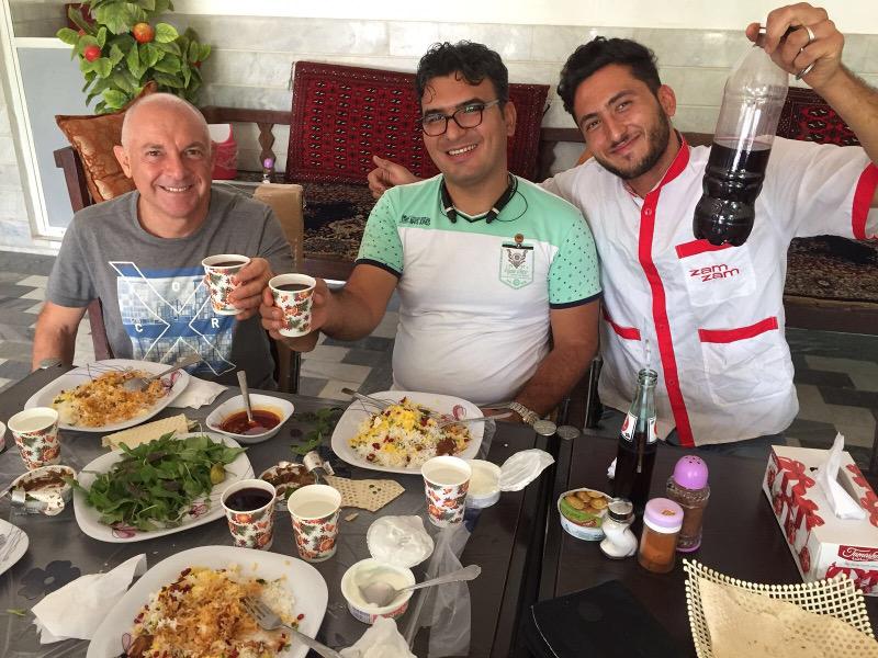 Iran:Lezione cucina con cena a Shiraz