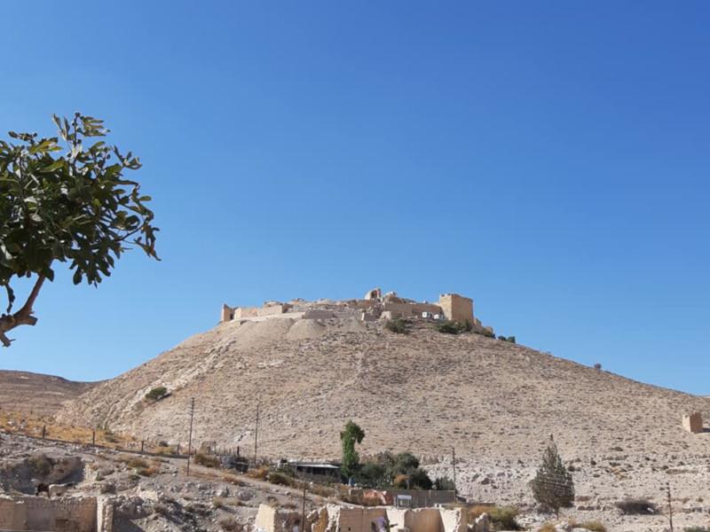 Il Castello di shobak in Giordania