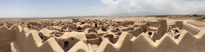 La città di fango Rayen nel deserto