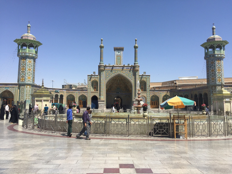 Imam Khomeini Mosque di Teheran