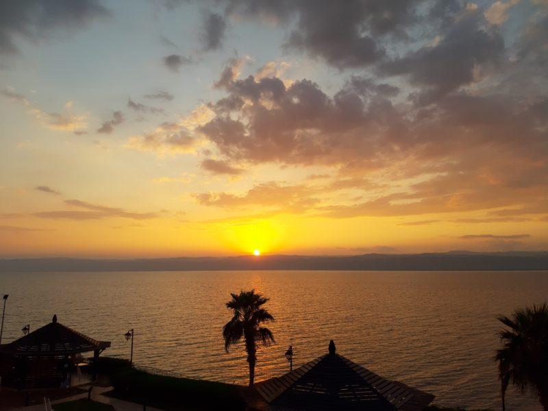 Tramonto Mar Morto