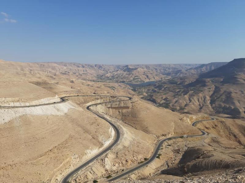 Wadi Mujiib in Giordania