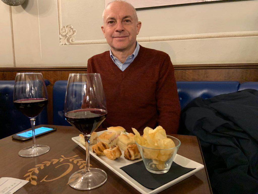 Massimo al ristorante Angiol d'or di Parma