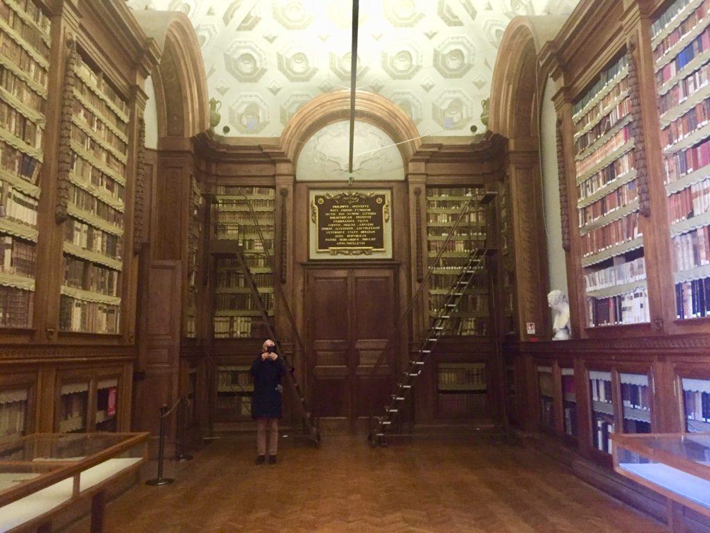 La biblioteca Pilotta di Parma