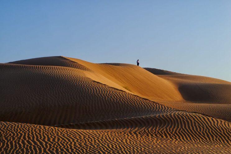 Il Deserto rub khali in Oman