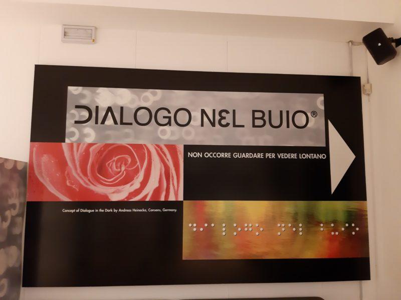 Inizio percorso Dialogo nel buio Milano