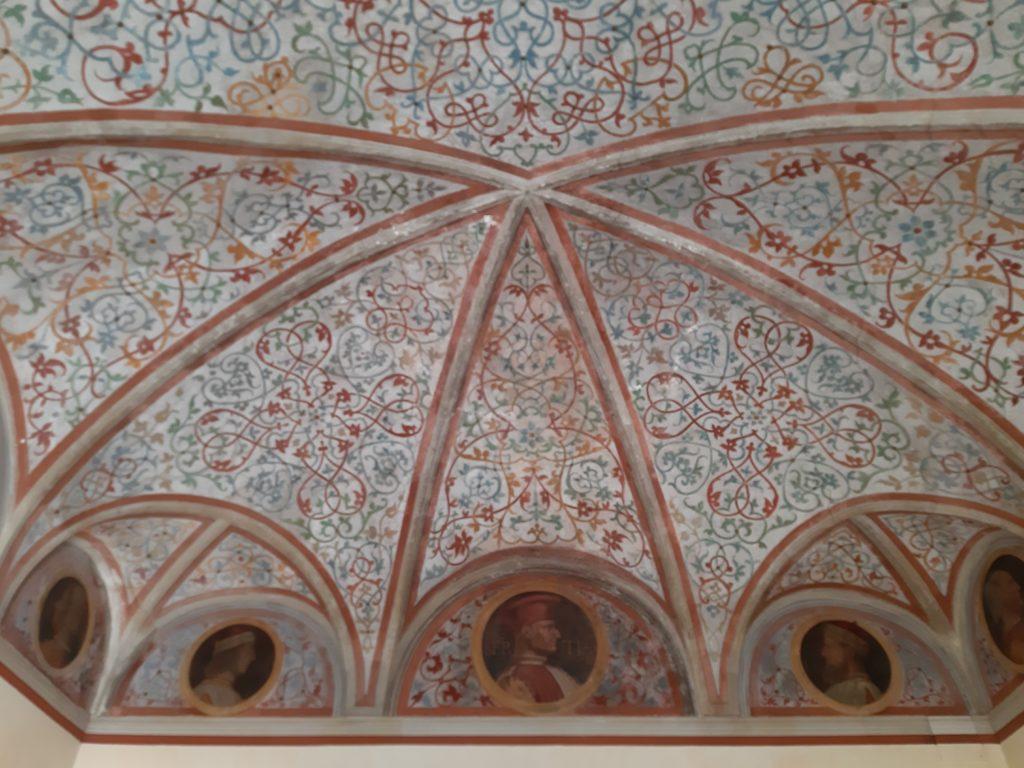 La Sala Ritratti dei Sforza della Casa degli Atellani e la vigna di Leonardo a Milanovb