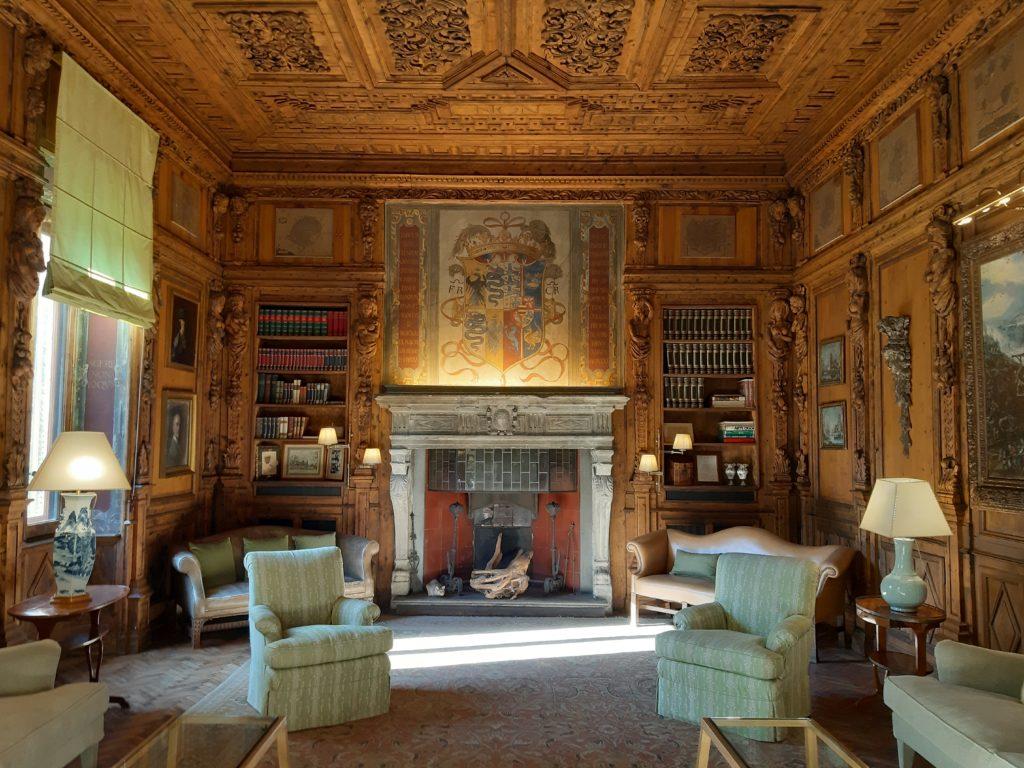 Lo studio Ettore conti di Casa Atellani di Milano